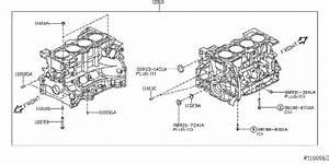 Infiniti Qx60 Jet Oil  Cylinder  Block  Component