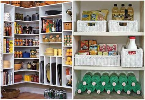 ter uma despensa na cozinha  organizar os mantimentos