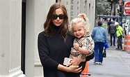 Irina Shayk with Smiling Lea in NYC After Bradley Cooper's ...