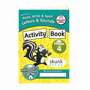 letters and sounds phase 4 activity book smart kids With letters and sounds book
