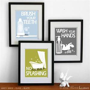 bathroom wall art decor industry standard design ideas With best brand of paint for kitchen cabinets with childrens wall art canvas
