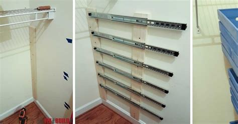 creative ideas diy pull out wood crate storage to
