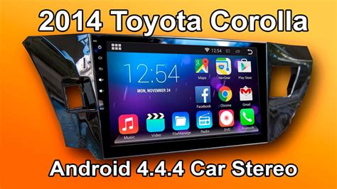 toyota corolla android car stereo review