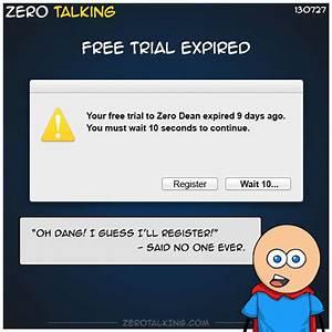 Free Trial Expired  U2013 Zero Talking