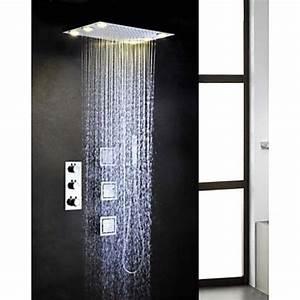 Douche Encastrable Plafond : lookshop robinet de douche thermostatique avec t te de ~ Premium-room.com Idées de Décoration
