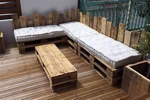 table basse etagere salon de jardin ou canape les With meuble de jardin avec palette en bois