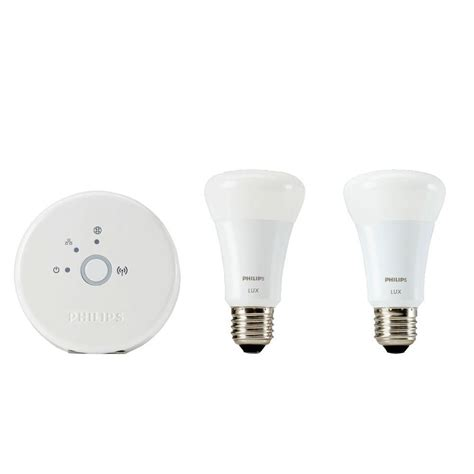 philips hue 60w equivalent soft white 2700k a19