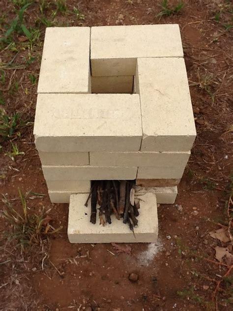 brick rocket stove  owner builder