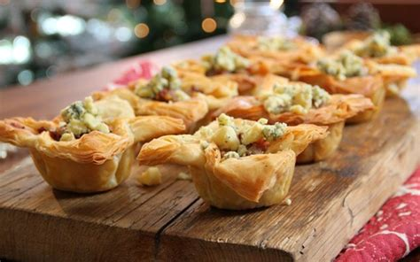 recipe details poached pear filo canap 233 s by living emea