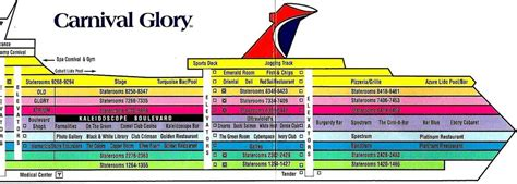 carnival pride printable deck plans floor page 2078 estate buildings information portal