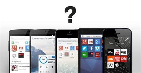 browsers for androids phones which mobile browser is best for your phone