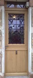 Grille Porte D Entrée : copie porte d entr e ancienne avec grilles door ~ Melissatoandfro.com Idées de Décoration