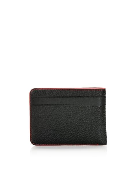 ferrari mens leather wallet man scuderia ferrari