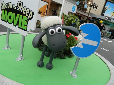 Aardman Shaun The Sheep The Movie Con Meets The Stars