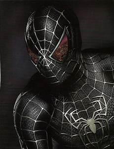 spiderman costume black | Spiderman Black Costume
