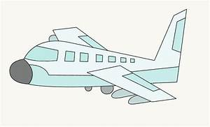 How to Draw an Airplane | Easy Drawing Guides