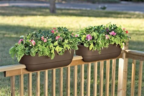 Banister Planters by 1000 Ideas About Deck Railings On Railing