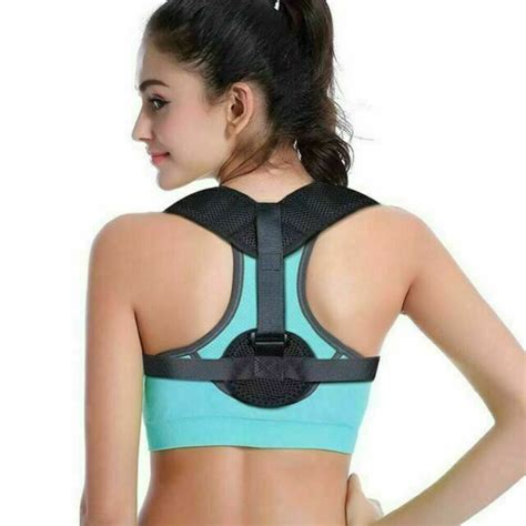 Back Posture Corrector Brace for Women and Men with ...