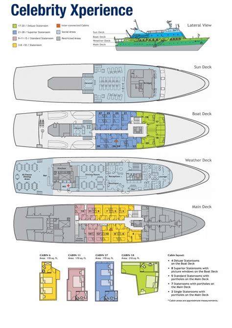 eclipse deck plan 11 discover galapagos galapagos islands luxury cruise tour
