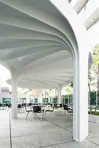 Gallery Of Leaf-structured Canopy    Sam Architekten Und Partner