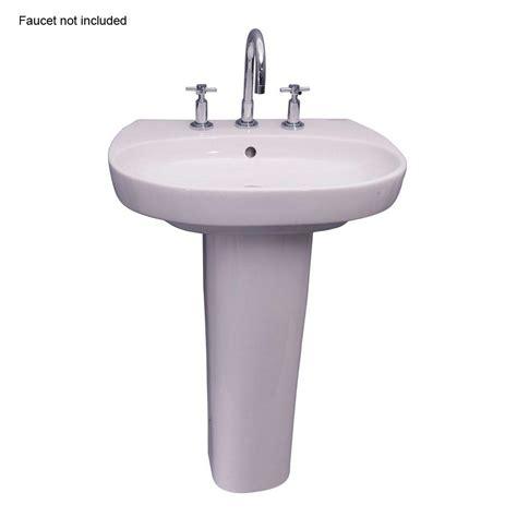 american standard town square pedestal combo bathroom sink