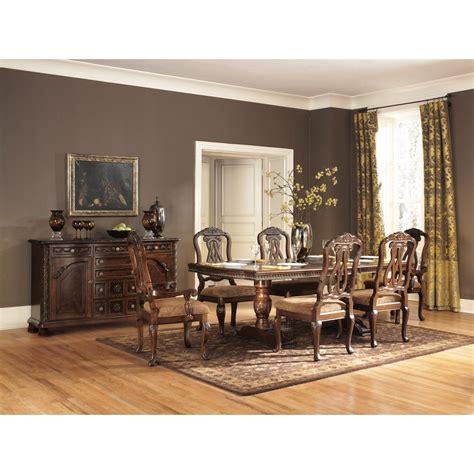 roundhill furniture sunhill 7 formal rectangular