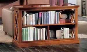 Legno U0026design Libreria Retrodivano  Amazon It  Casa E Cucina