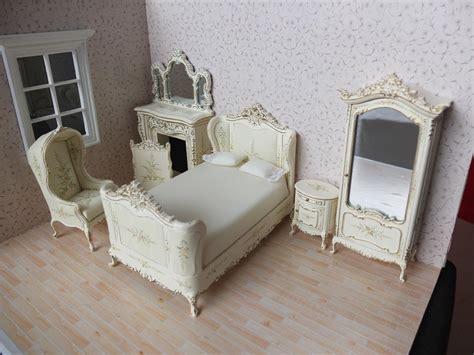 Bedroom Furniture Sets On Ebay by Bespaq Dollhouse Miniature Bedroom Furniture Set