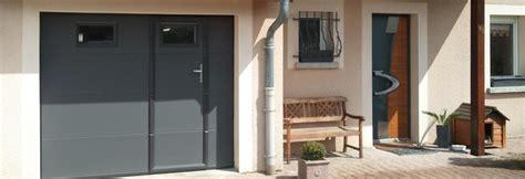 porte de garage avec porte pieton obasinc