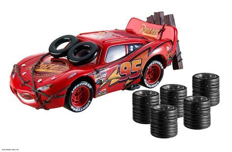 Auta A Autodráhy  Mattel Cars Daredevil Garage Lightning