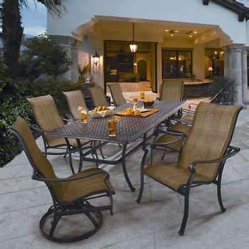 costco outdoor patio dining sets dining sets costco