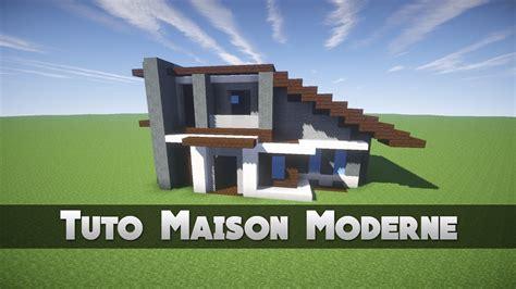 Tuto Maison Moderne !  Minecraft Youtube