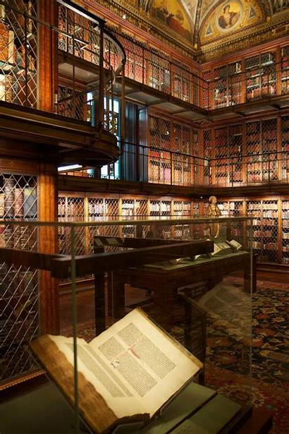 Library Libraries Morgan Most Pierpont Nyc Museum