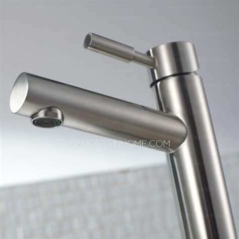 expensive heightening stainless steel bathroom vessel sink