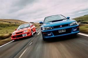 Rally legends twin test: Mitsubishi Lancer Evo VI Makinen