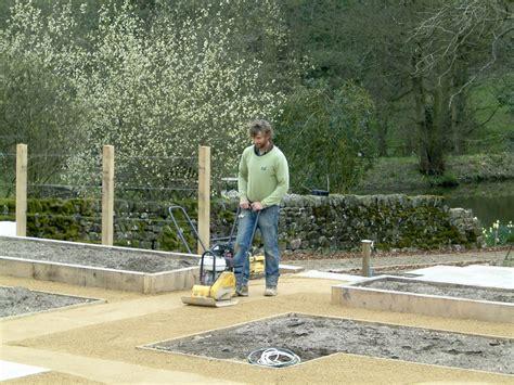large vegetable garden olive garden design  landscaping