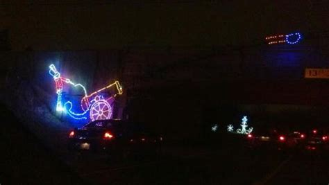 hines drive christmas lights wayne county hines park christmas lightfest picture of