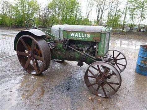 tractor with plow c 1920 wallis 4cylinder petrol kerosene tractor 2889