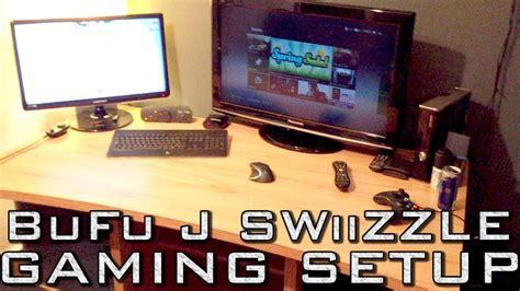 epic gaming setup xbox tv pc bedroom youtube
