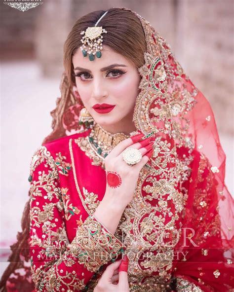 rana zubab bridal dresses gorgeous wajahat photoshoot uploaded