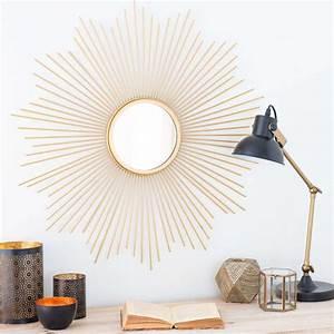 Grand Miroir Maison Du Monde : miroir soleil le miroir vintage qu 39 on adore marie claire ~ Teatrodelosmanantiales.com Idées de Décoration