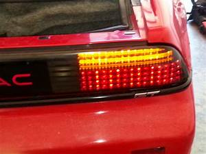 Pontiac Fiero Led Tail Lights