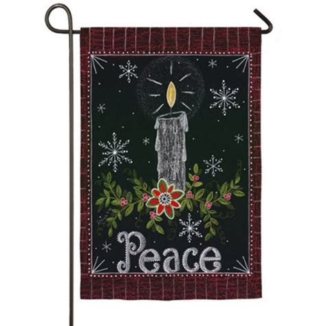 seasonal garden flags peace candle garden flag winter garden flags seasonal
