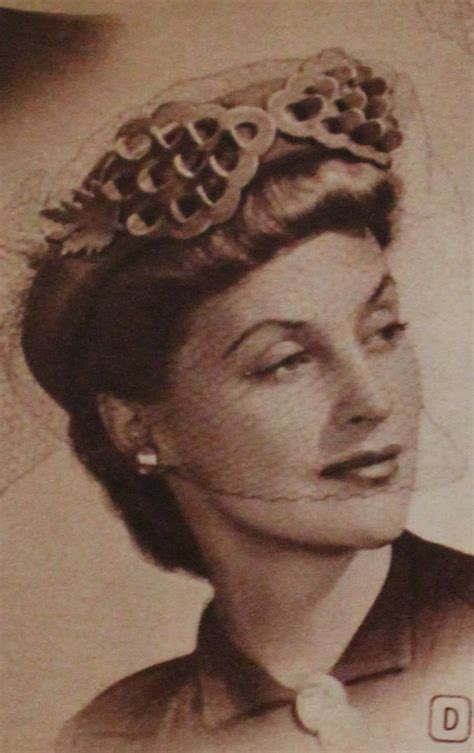 1940s Pompadour Hairstyle by 1940s Hats History 20 Popular S Hat Styles