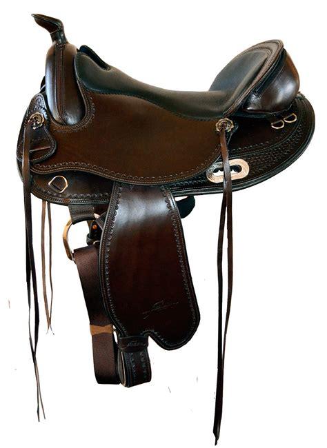 saddle western freeform treeless saddles