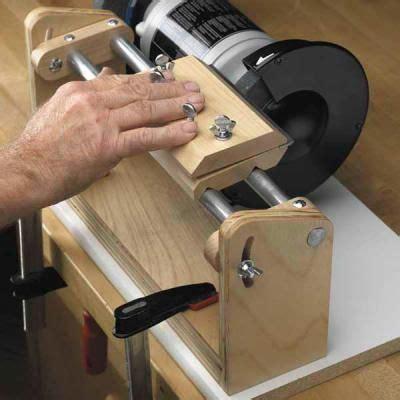 hollow grind sharpening technique  jig plan