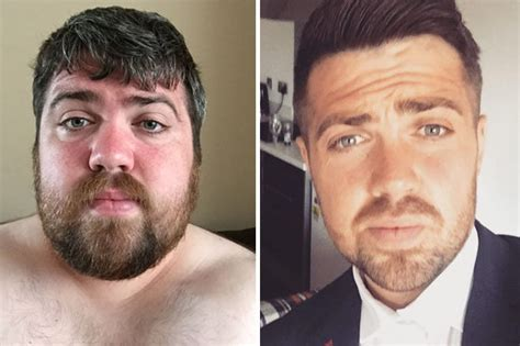Student reveals his dramatic weight loss transformation