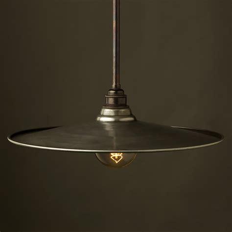 Bar Lamp Shades by Single Rod Bronze Lamp Pendant