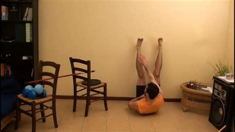 attrezzi per addominali a casa esercizi pettorali schiena ed addominali allenamento