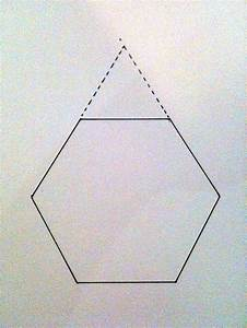 use this pentagon pattern with a hexagon to create a new ...